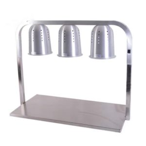 WL-750  Commercial Food Warmer (3 Heating Bulbs)