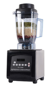 CS-2100A  Deluxe 2100W Commercial Blender, Stainless Steel Casing